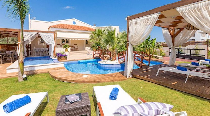 Complex of 3 Villas for Sale Rethimno Crete 12