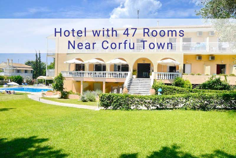 Hotel near Corfu Town with 47 Rooms
