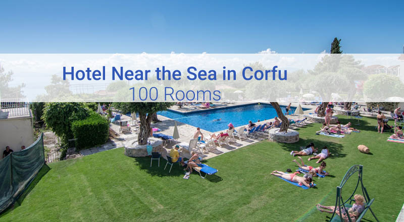 Hotel for Sale in Corfu with 100 Rooms near the sea