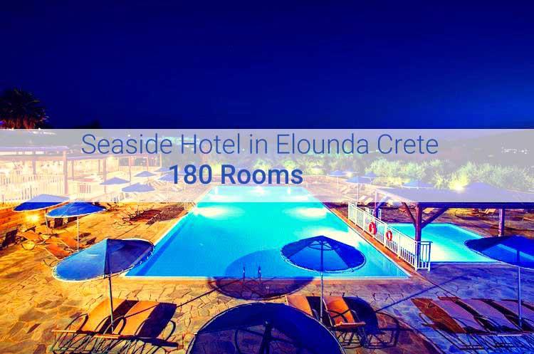 Hotel at Elounda Crete with 180 Rooms