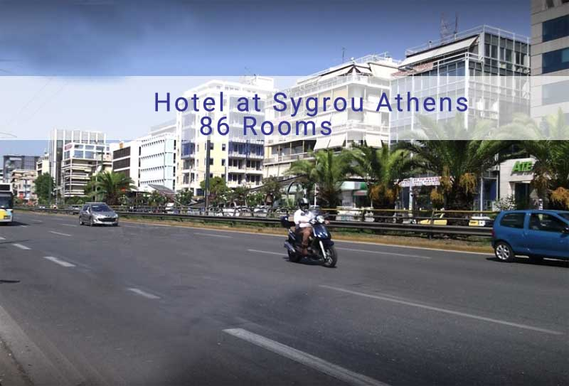 Hotel in Sygrou Athens with 86 Rooms