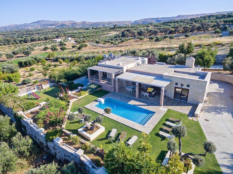 5 Bedroom Luxury Villa in Rethymno,Sfakaki, Crete, Real Estate Greece