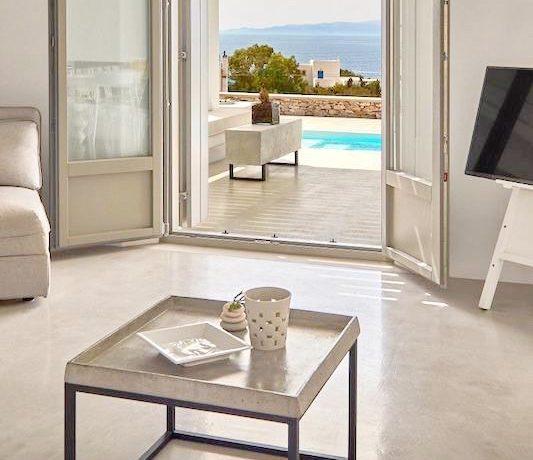 Luxury Villa in Lolandonis Beach , in Paros 21