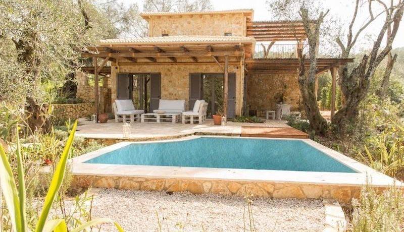 Stone Villa in Corfu Avlaki 4