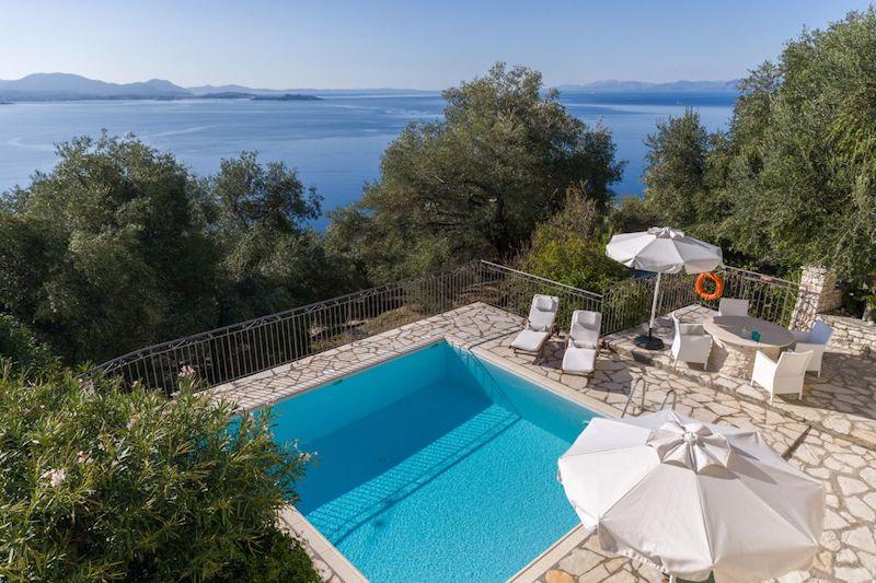 Luxury Villa in Nissaki, Corfu, Home for sale