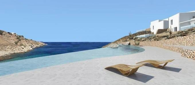 Mykonos New Seafront Hotel with 40 Suites, Under Construction