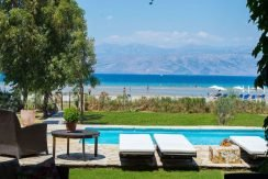 on the beach Villa in Corfu Kassiopi 17