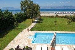 on the beach Villa in Corfu Kassiopi 2