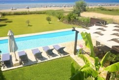 on the beach Villa in Corfu Kassiopi 22