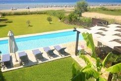 on the beach Villa in Corfu Kassiopi 22