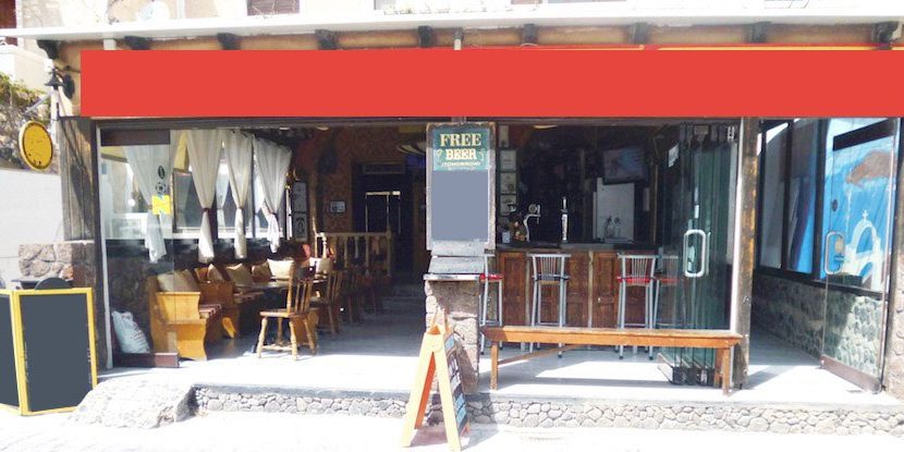 Bar For Sale at Kamari Santorini 1