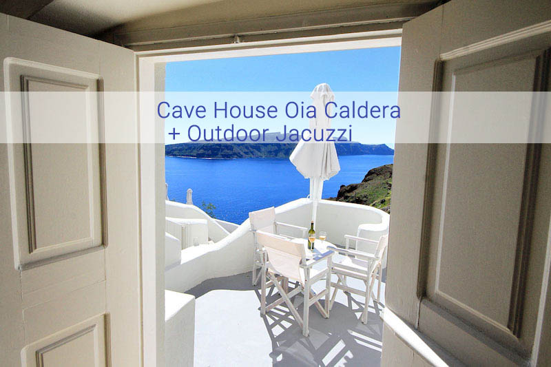 Luxury Cave Suite at Oia Santorini EXCLUSIVE