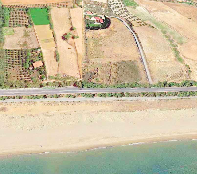 Seafront Villa with Big Land in Rethymno Crete