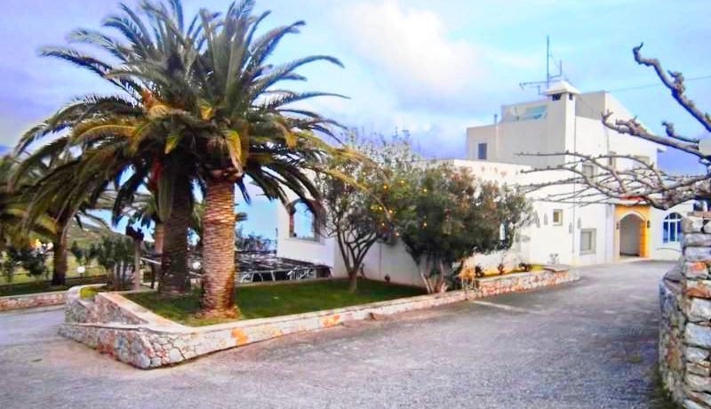 Seafront Villa with Big Land in Rethymno Crete 7