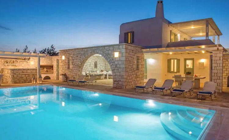 Villa in Paros, in Aliki 31