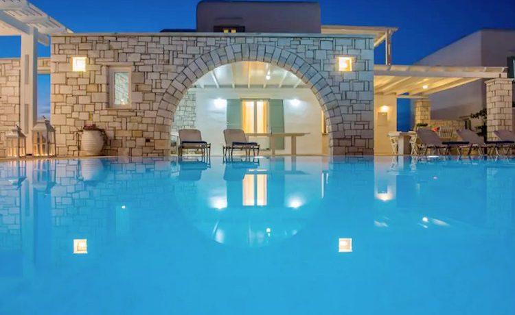 Villa in Paros, in Aliki 32