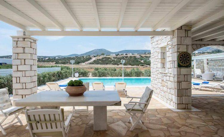 Villa in Paros, in Aliki 6