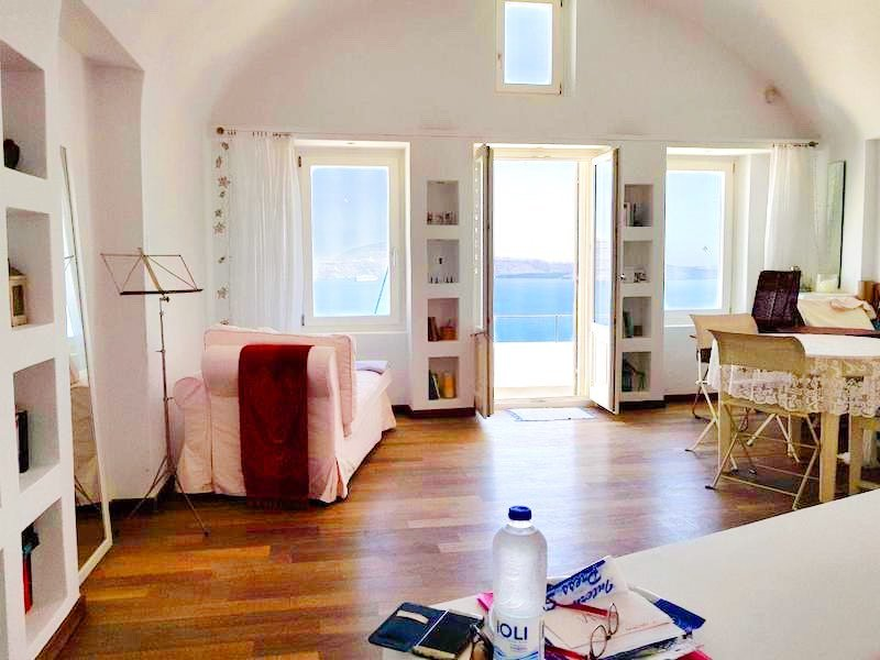 New Super Cave House at Caldera Oia Santorini, 2 Levels, Amazing Sea Views – EXCLUSIVE