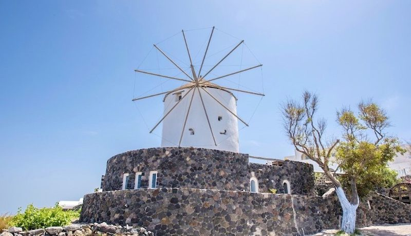Windmill in Santorini for Sale 3