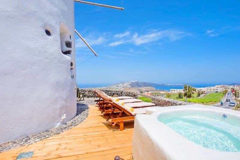 Windmill for sale in Santorini, Property in Greece, Top Villas, Real Estate Greece, Luxury Estate