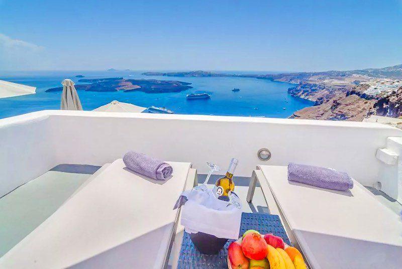 New Cave Villa at Caldera Santorini with 2 Bedrooms and 2 terraces – EXCLUSIVE