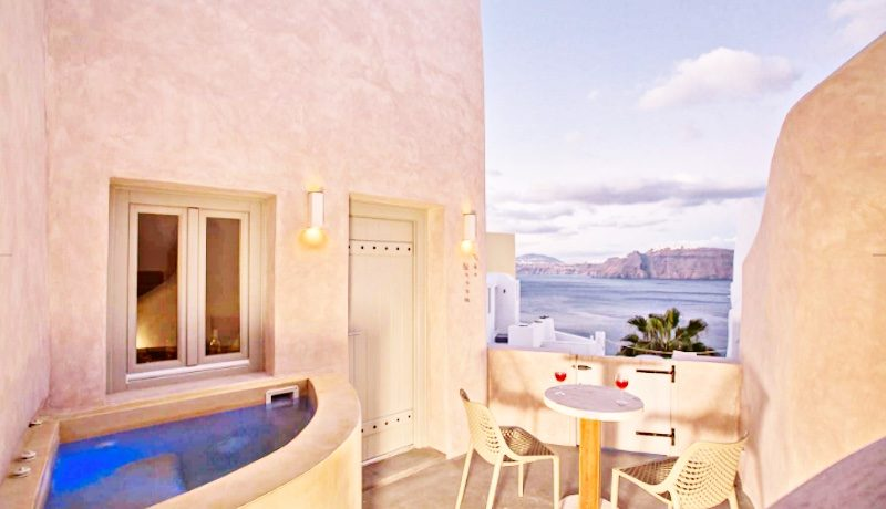 2 Caldera Cave Houses at Oia Santorini for Sale 17