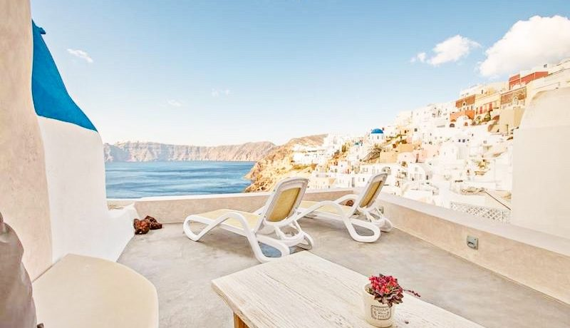2 Caldera Cave Houses at Oia Santorini for Sale 3
