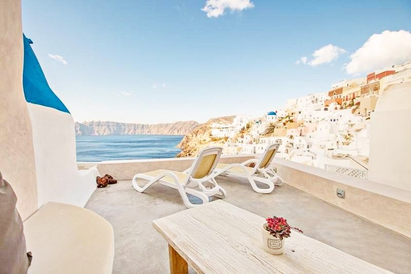 2 Caldera Cave Houses at Oia Santorini  – EXCLUSIVE