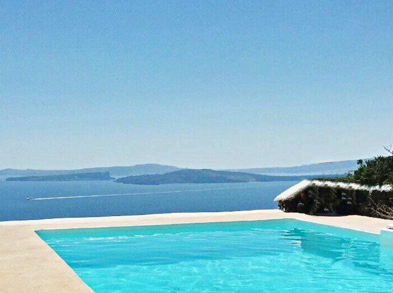 Villa at Caldera at Oia Santorini