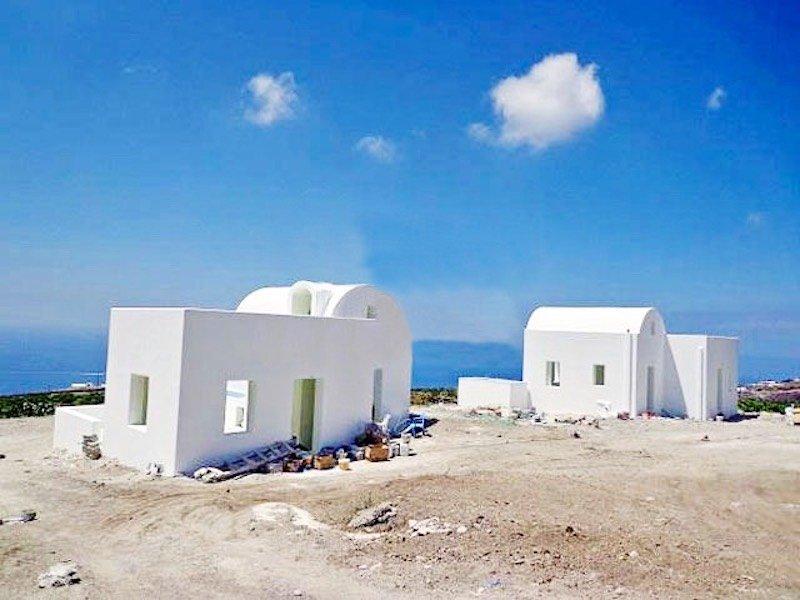 4 Houses at Imerovigli Santorini  with sea View