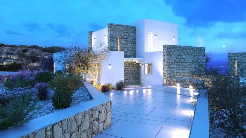 8 room Luxury Villa in Paros Greece, Santa Maria 4