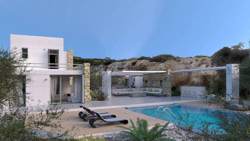 8 room Luxury Villa in Paros Greece, Santa Maria 6