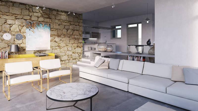 8 room Luxury Villa in Paros Greece, Santa Maria 9