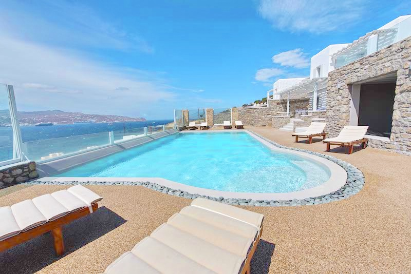 Hotel at Mykonos