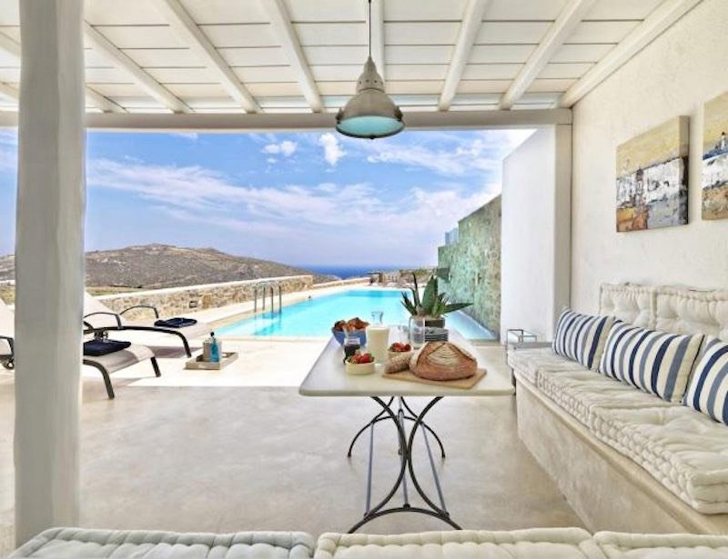 New Villa in Mykonos with 4 Bedrooms and Pool