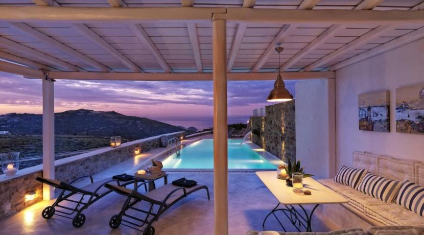 New Villa in Mykonos with 4 Bedrooms and Pool. Luxury and modern design residence located in Mykonos. Mykonos Villas for Sale, Mykonos Real Estate