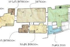 House for Sale in Santorini plan