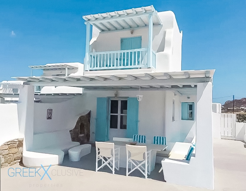 Maisonette of 3 Levels with 3 Bedrooms at Elia Mykonos