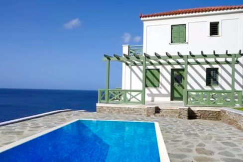 Seafront Villa For Sale Greece, Andros Cyclades 1