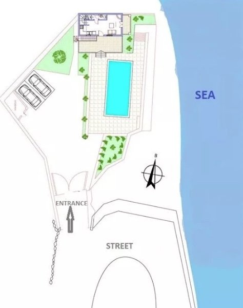 Seafront Villa For Sale Greece, Andros Cyclades 5