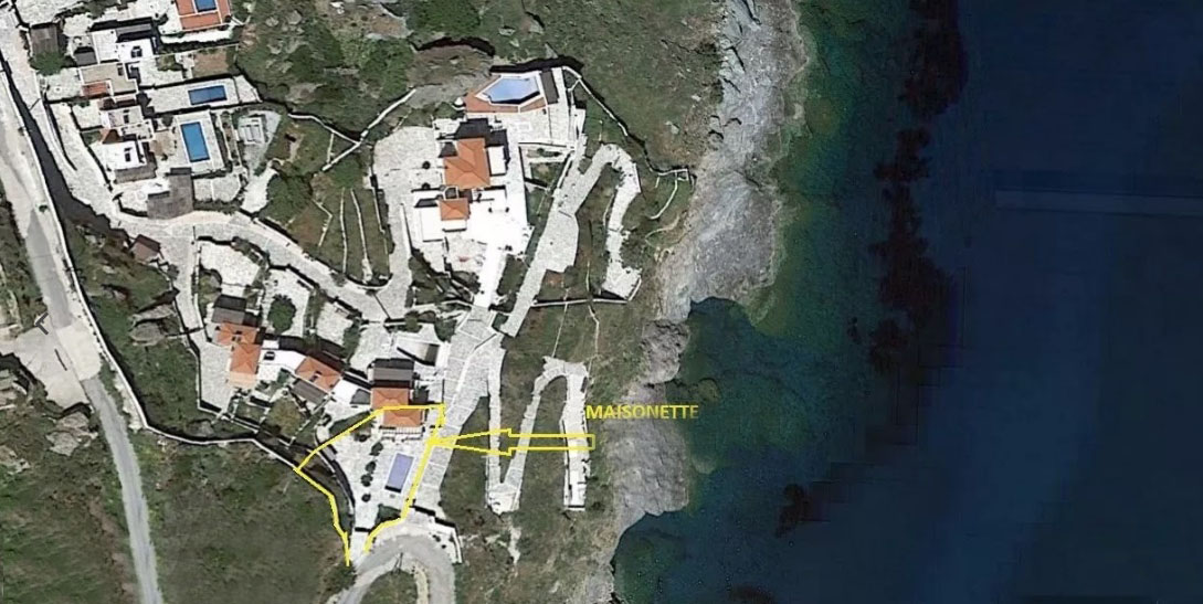 Seafront Villa For Sale Greece, Andros Cyclades 6