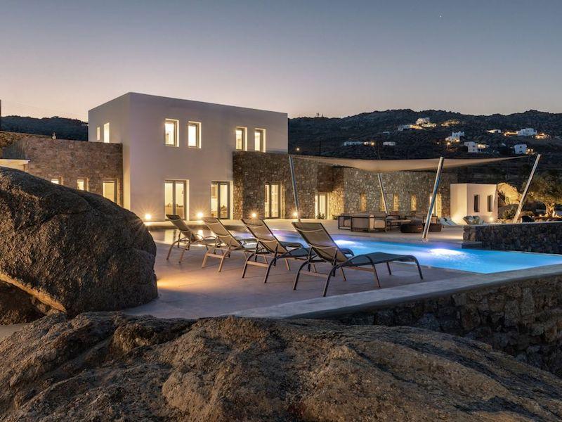 Super Villa at Mykonos, Agrari Beach