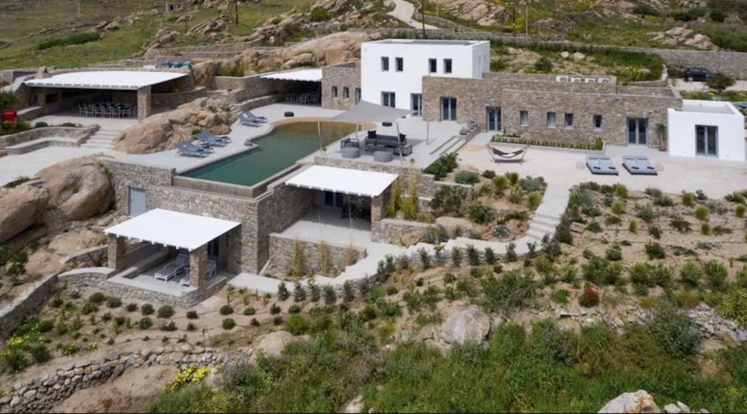 Super Villa at Mykonos, Agrari Beach, Elia. This villa is among the most lavish and exclusive villas in Mykonos 1