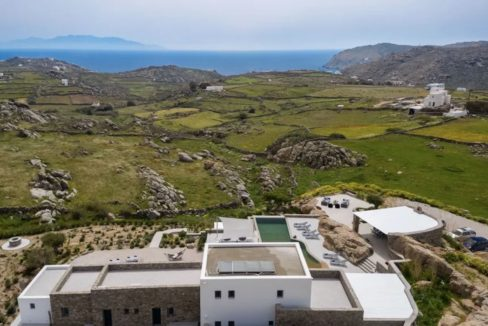 Super Villa at Mykonos, Agrari Beach, Elia. This villa is among the most lavish and exclusive villas in Mykonos 2