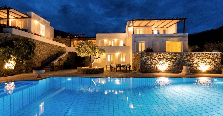 Villa in Mykonos, Ftelia