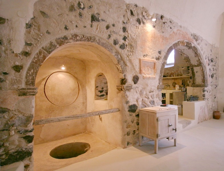 House at Emporio Santorini, Restored Winery