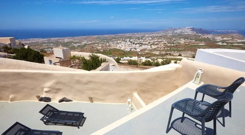 Property at Pyrgos Santorini with sea view for sale 1