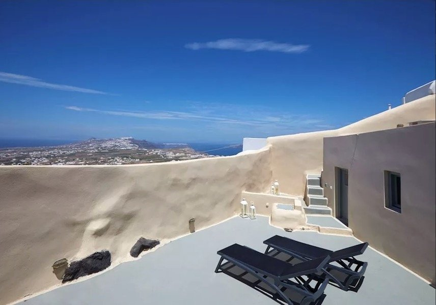 Property at Pyrgos Santorini with sea view