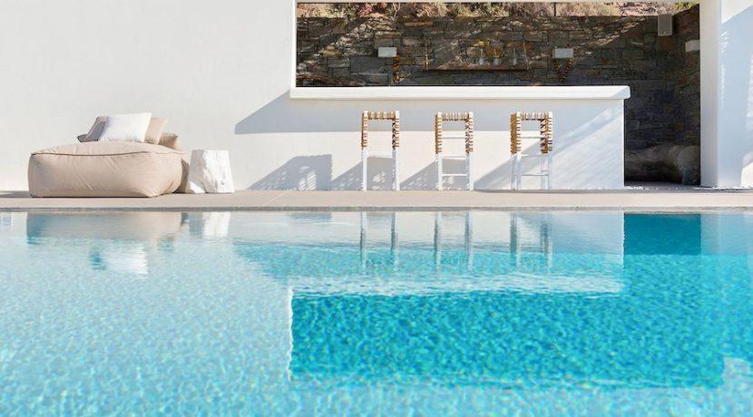 Minimal Villa in Paros, Insterni area 10