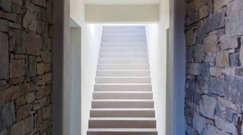 Minimal Villa in Paros, Insterni area 18